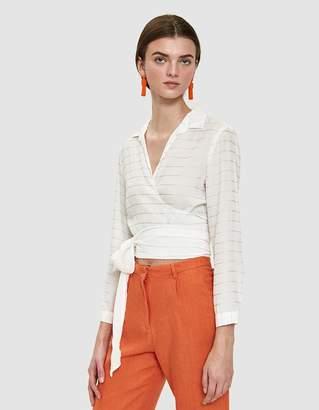 Paloma Wool Zhenya Wrap Top
