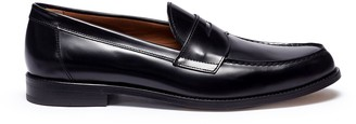 Antonio Maurizi Cordovan leather penny loafers