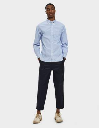 Beams 9/10 Trouser 80/3 Twill in Navy