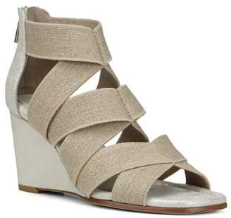 Donald J Pliner Women's Lelle-Le Elasticized Cross-Strap Wedge Sandals