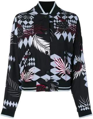 Versace floral bomber jacket