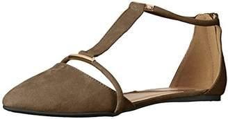 Qupid Women's Swift-133 Pointed Toe Flat