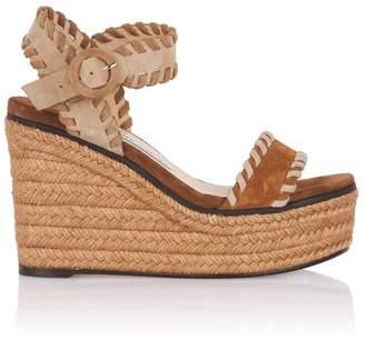98a43da4d2b5 Jimmy Choo Espadrille Wedge Women s Sandals - ShopStyle