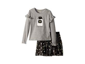 Kate Spade Kids Chic Skirt Set (Toddler/Little Kids)