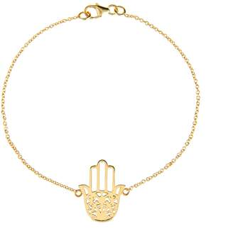 Latelita London - Cosmic Hamsa Bracelet Gold