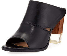 Lfl By Lust For Life Edgy Leather High Sandal