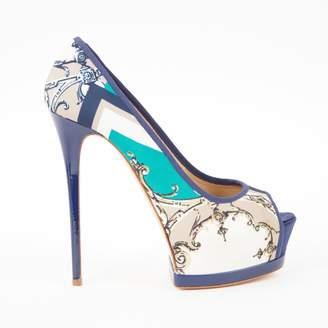Gianmarco Lorenzi Multicolour Leather Heels