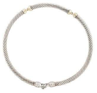 David Yurman Cable Collar Necklace