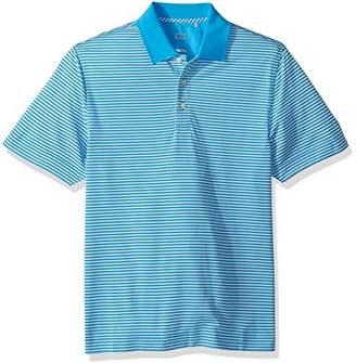 Cutter & Buck Men's Moisture Wicking Drytec Lightweight Trevor Stripe Polo Shirt