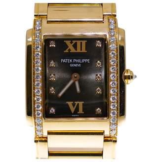 Patek Philippe Twenty 4 24 In 18k Rose Gold W/ Diamond Bezel On Bracelet 4910/11r