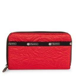 Le Sport Sac Taylor Zip-Around Pouch Wallet