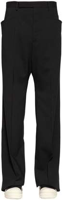 Rick Owens 29cm Stretch Virgin Wool Gauze Pants