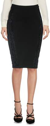 Philipp Plein Knee length skirts - Item 35249716DJ