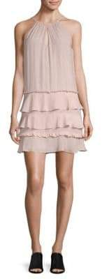 Ramy Brook Ruffled Halter Dress