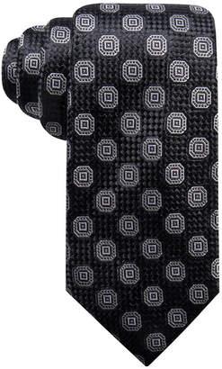 Tasso Elba Men's Octagon Medallion Silk Tie