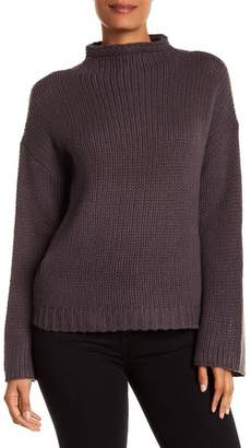 360 Cashmere Nikki Mock Neck Cashmere Sweater