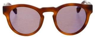 Westward Leaning Westward\\Leaning Mirrored Wayfarer Sunglasses