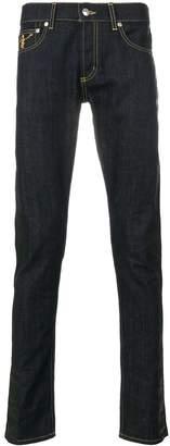 Alexander McQueen funny bones jeans