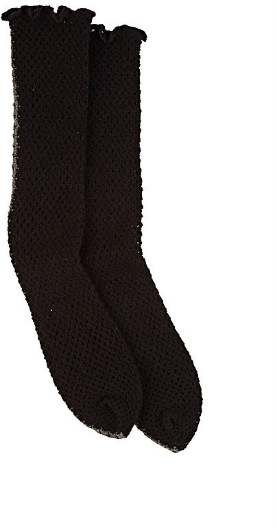 Antipast Antipast Women's Fishnet Mid-Calf Socks