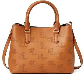 Ralph Lauren Leather Mini Marcy Satchel