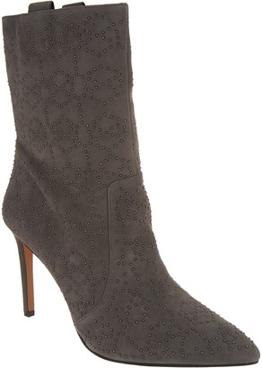 Vince Camuto Suede Mid-Calf Boots - Korikanta