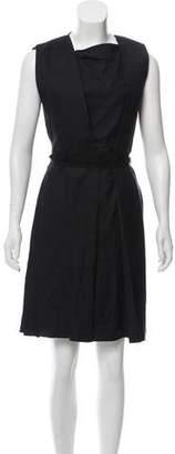 Bottega Veneta Knee-Length Pleated Dress