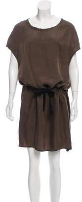Ann Demeulemeester Short Sleeve Midi Dress