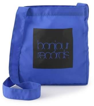 Bonjour Records (ボンジュール レコーズ) - ボンジュールレコード 【bonjour records】NYLON 7INCH SHOULDER BAG
