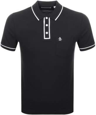 Original Penguin The Earl Polo T Shirt Black