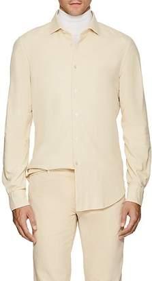 Boglioli Men's Cotton Corduroy Dress Shirt