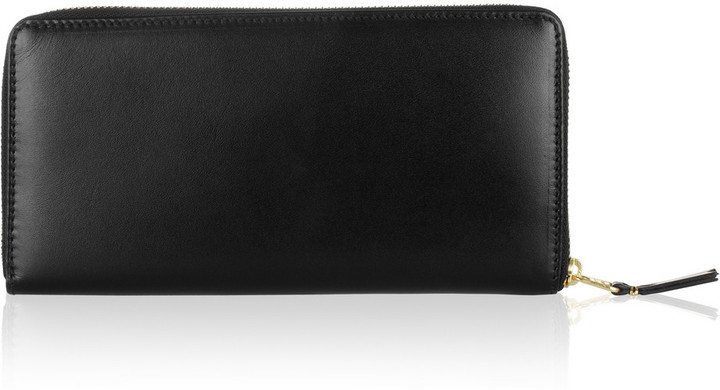 Comme des Garcons Leather continental wallet