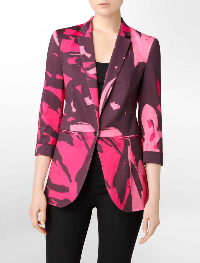Bold Print Jacket
