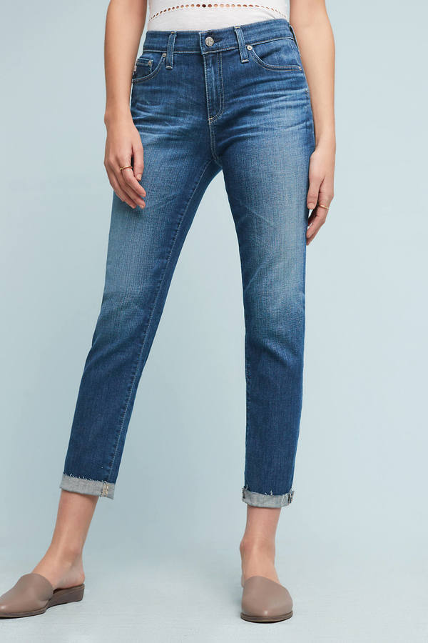 AG Jeans AG Beau Mid-Rise Relaxed Skinny Jeans