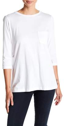 Helmut Lang 3/4 Length Sleeve Pocket Tee