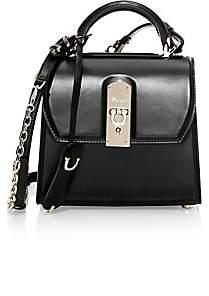 Salvatore Ferragamo Women's Small Boxyz Leather Top Handle Bag