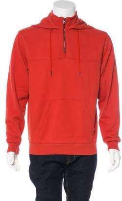 Frame Hooded Knit Sweatshirt