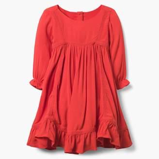 Ruffled Swing Dress