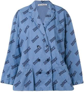 Acne Studios Double breasted blouse jacket