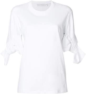 Victoria Beckham Victoria bow cuff T-shirt
