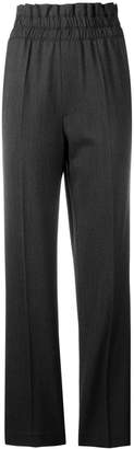 Helmut Lang loose flared trousers