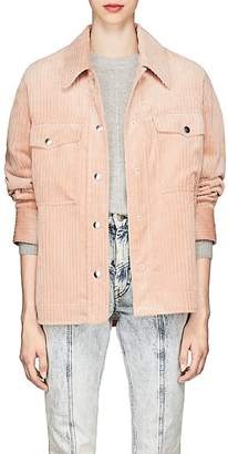 Isabel Marant Women's Marvey Corduroy Shirt Jacket