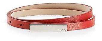 HUGO BOSS Luella Skinny Leather Belt