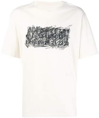 Maison Margiela graffiti print short-sleeve T-shirt