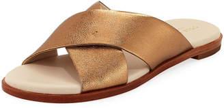 f39355a283d Cole Haan Anica Grand Crisscross Metallic Sandals