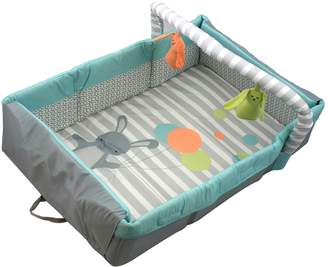 Comfort & Harmony 2-in-1 Travel Bed & Play Mat