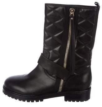 Raoul Leather Mid-Calf Boots
