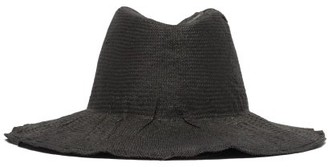 Reinhard Plank Hats - Beghe Large Woven Hat - Womens - Black