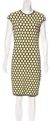 Alexander McQueen Textured Knee-Length Dress