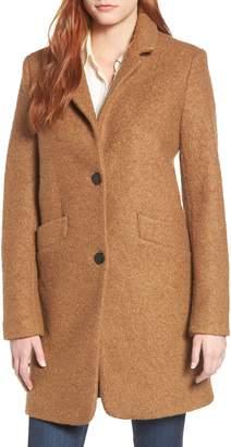 Andrew Marc Pressed Boucle Coat