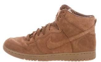 Nike A.P.C. x Dunk High Sneakers